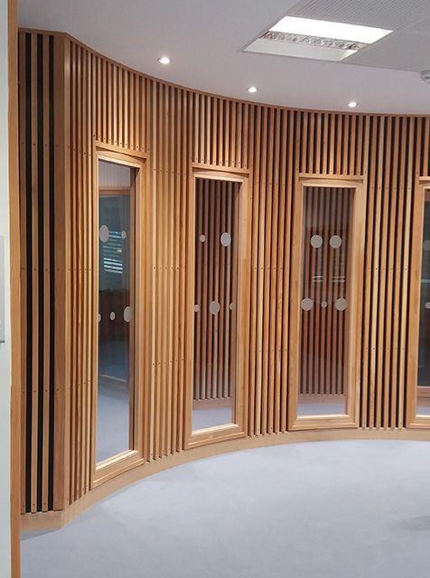 cloison courbe stunning delicious cloison briques verre abattage cloison avec briques de verre. Black Bedroom Furniture Sets. Home Design Ideas