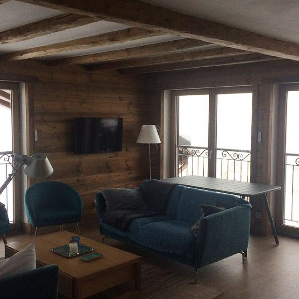 Lambris et habillages de plafond en vieux bois